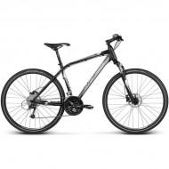 "Bicicleta KROSS Evado 5.0 17 28"" negru/gri L"