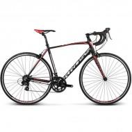 """Bicicleta KROSS Vento 1.0 17 28"""" negru/rosu/alb M"""