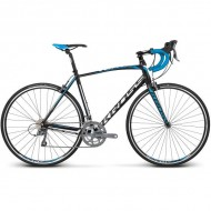 "Bicicleta KROSS Vento 2.0 17 28"" negru/albastru/alb M"