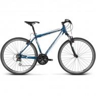 "Bicicleta KROSS Evado 2.0 17 28"" albastru/alb XL"