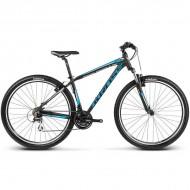 """Bicicleta KROSS Hexagon B3 17 29"""" negru/albastru/argintiu S"""