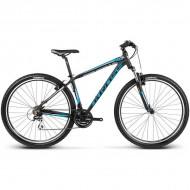 """Bicicleta KROSS Hexagon B3 17 29"""" negru/albastru/argintiu M"""