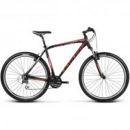 """Bicicleta KROSS Hexagon B3 17 29"""" negru/rosu/argintiu M"""