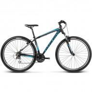 """Bicicleta KROSS Hexagon B3 17 29"""" negru/albastru/argintiu L"""