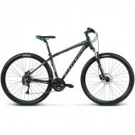 """Bicicleta KROSS Hexagon B5 17 29"""" negru/verde/gri L"""