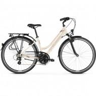 "Bicicleta KROSS Trans 2.0 DL 28"" crem/maro/grafit/lucios"