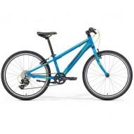Bicicleta MERIDA 17 MATTS J24 Race albastru/negru/verde