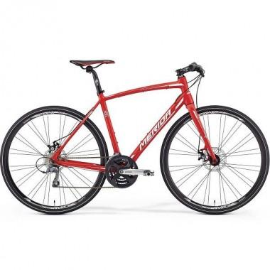 Bicicleta MERIDA 16 Speeder 100 rosu/alb M/L (54 cm)