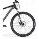 "Bicicleta MERIDA 15 BIG.SEVEN 100 negru/gri/verde S (15"")"