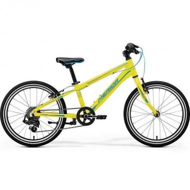 Bicicleta MERIDA 17 MATTS J20 Race galben/albastru