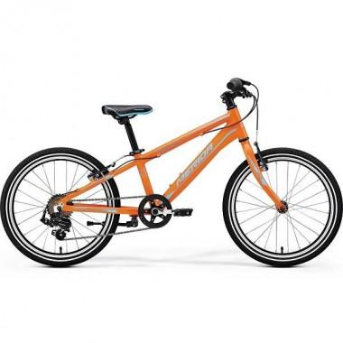 Bicicleta MERIDA 17 MATTS J20 Race portocaliu/albastru