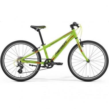 Bicicleta MERIDA 17 MATTS J24 Race verde/rosu