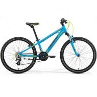 Bicicletă MERIDA 17 MATTS J24 ALBASTRU MAT (negru/verde)