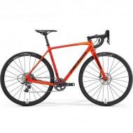 """Bicicleta MERIDA 18 Cyclo Cross 9000 28"""" rosu/portocaliu/negru M (53 cm)"""
