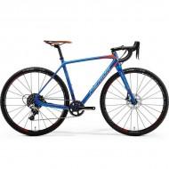 "Bicicleta MERIDA 18 Cyclo Cross 7000 28"" albastru/portocaliu/rosu L (56 cm)"