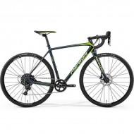 "Bicicleta MERIDA 18 Cyclo Cross 6000 28"" gri inchis/verde/galben L (56 cm)"