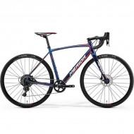 "Bicicleta MERIDA 18 Cyclo Cross 600 28"" albastru/rosu/alb L (56 cm)"
