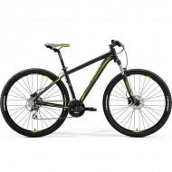 """Bicicleta MERIDA 18 BIG.NINE 20-D 29"""" negru/verde L (19"""")"""