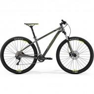 """Bicicleta MERIDA 18 BIG.NINE 300 29"""" antracit/verde/negru L (18.5"""")"""