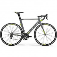 """Bicicleta MERIDA 18 Reacto 400 28"""" gri/argintiu/verde L (56 cm)"""