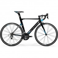 "Bicicleta MERIDA 18 Reacto 300 28"" negru/argintiu/albastru L (56 cm)"
