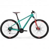 "Bicicleta MERIDA 18 BIG.NINE 100 29"" verde/rosu L (18.5"")"