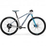 "Bicicleta MERIDA 18 BIG.NINE 600 29"" argintiu/albastru L (18.5"")"