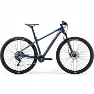 "Bicicleta MERIDA 18 BIG.NINE 500 29"" albastru petrol/rosu/gri L (18.5"")"