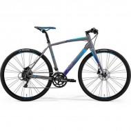 """Bicicleta MERIDA 2019 Speeder 200 28"""" gri/albastru S/M (52 cm)"""