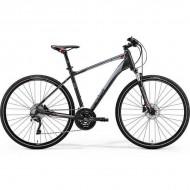 "Bicicleta MERIDA 2019 Crossway 600 28"" gri/rosu/argintiu L (55 cm)"