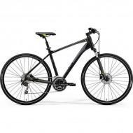 "Bicicleta MERIDA 2019 Crossway 300 28"" negru/verde/gri S (47 cm)"
