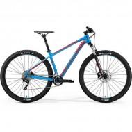 """Bicicleta MERIDA 18 BIG.NINE 300 29"""" albastru/rosu L (18.5"""")"""