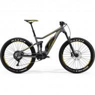 "Bicicleta MERIDA 18 eBIG.TWENTY 800 27.5"" gri/galben L (19"")"