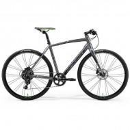 """Bicicleta MERIDA 2019 Speeder 300 28"""" antracit/verde/negru L (56 cm)"""