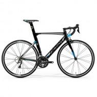 "Bicicleta MERIDA Reacto 300 28"" negru/argintiu/albastru S (50 cm)"