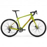 "Bicicleta MERIDA 2019 Silex 300 28"" olive/rosu L (53 cm)"