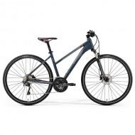 "Bicicleta MERIDA Crossway 600 Lady 28"" gri/rosu/argintiu S (47L cm)"