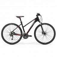 "Bicicleta MERIDA Crossway 500 Lady 28"" negru/rosu S (47L cm)"
