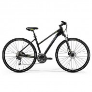"Bicicleta MERIDA Crossway 300 Lady 28"" negru/verde/gri S (47 cm)"