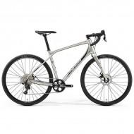 """Bicicleta MERIDA 2019 Silex 300 28"""" titan/negru L (53 cm)"""