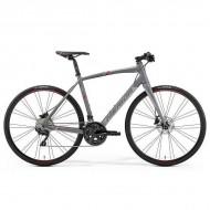 """Bicicleta MERIDA Speeder 400 28"""" gri/rosu S (50 cm)"""