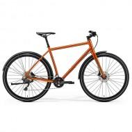 "Bicicleta MERIDA Crossway Urban 500 28"" cupru/maro S (46 cm)"