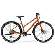 "Bicicleta MERIDA Crossway Urban 500 Lady 28"" cupru/maro M (50L cm)"