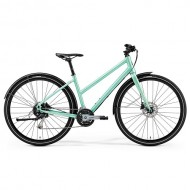 "Bicicleta MERIDA Crossway Urban 100 Lady 28"" verde menta M (50L cm)"