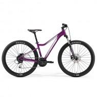 """Bicicleta MERIDA JULIET 7.100 27.5"""" mov/argintiu/alb L (18.5"""")"""