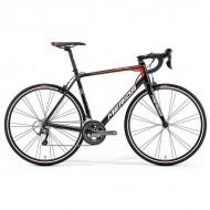 """Bicicleta MERIDA Scultura 300 28"""" Bahrain Team Replica negru M/L (54 cm)"""