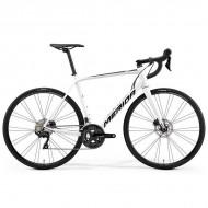 "Bicicleta MERIDA Scultura 400 Disc 28"" alb/negru M/L (54 cm)"