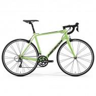 """Bicicleta MERIDA Scultura 100 28"""" verde/negru M/L (54 cm)"""