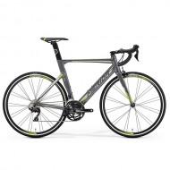 """Bicicleta MERIDA 2019 Reacto 400 28"""" argintiu/verde L (56 cm)"""