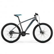 "Bicicleta MERIDA BIG.SEVEN 40 27.5"" argintiu/albastru/negru XS (13.5"")"